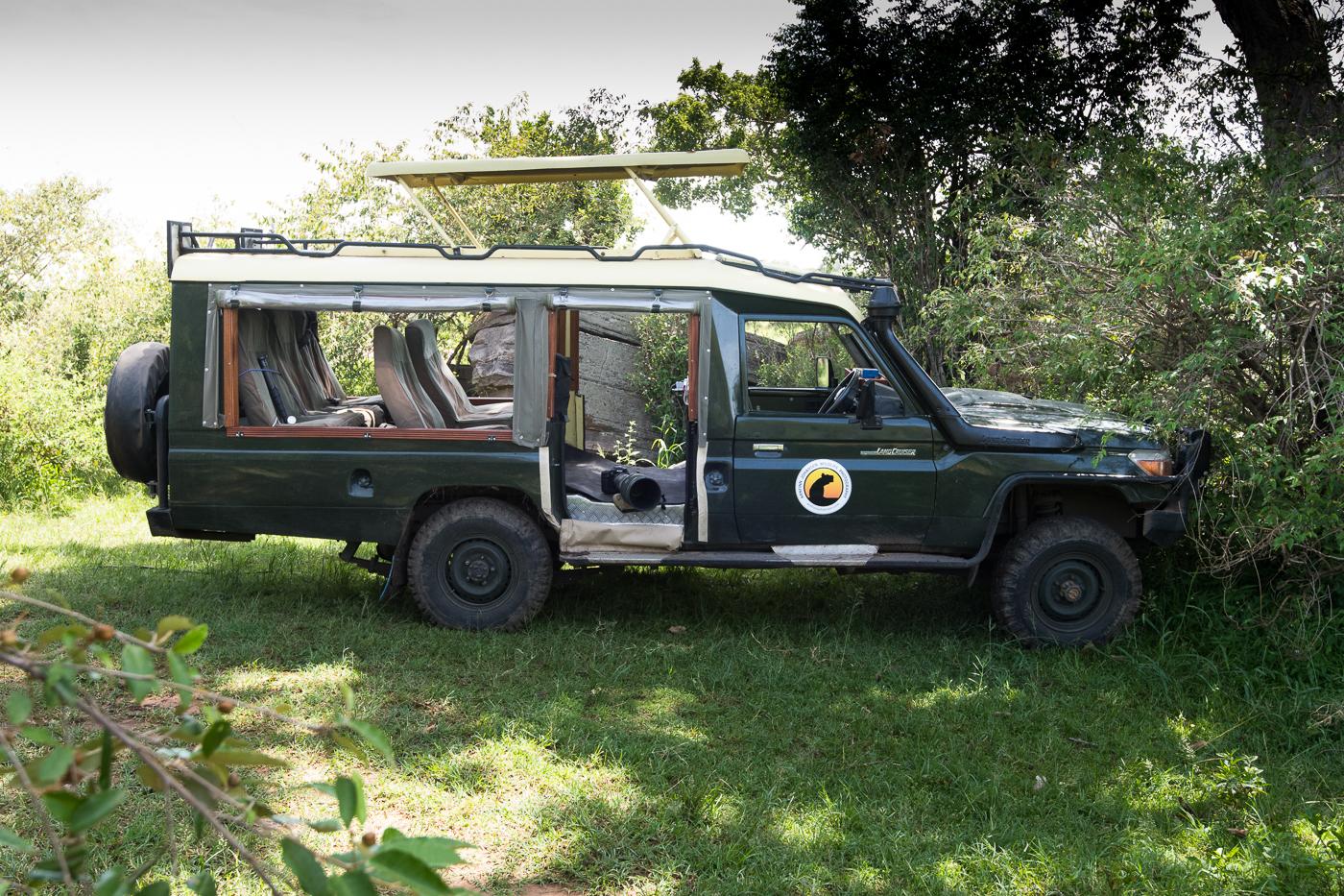 Modified Landcruiser - Img 3 - Oltepesi Tented Safari Camp